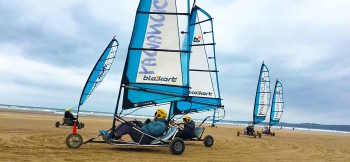 """Una gara di """"land yacth"""" lungo il mare: questo lo sport scelto per i 10 euro tedeschi per il 2020"""