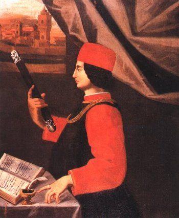Ritratto di Gianfrancesco II Pico, signore di Mirandola