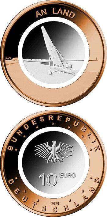 Essenziale, affascinante, comunica un senso di pace e silenzio questa nuova moneta tedesca destinata ai collezionisti per il 2020