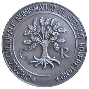 Il consueto rovescio delle medaglie edite dal CCNFR