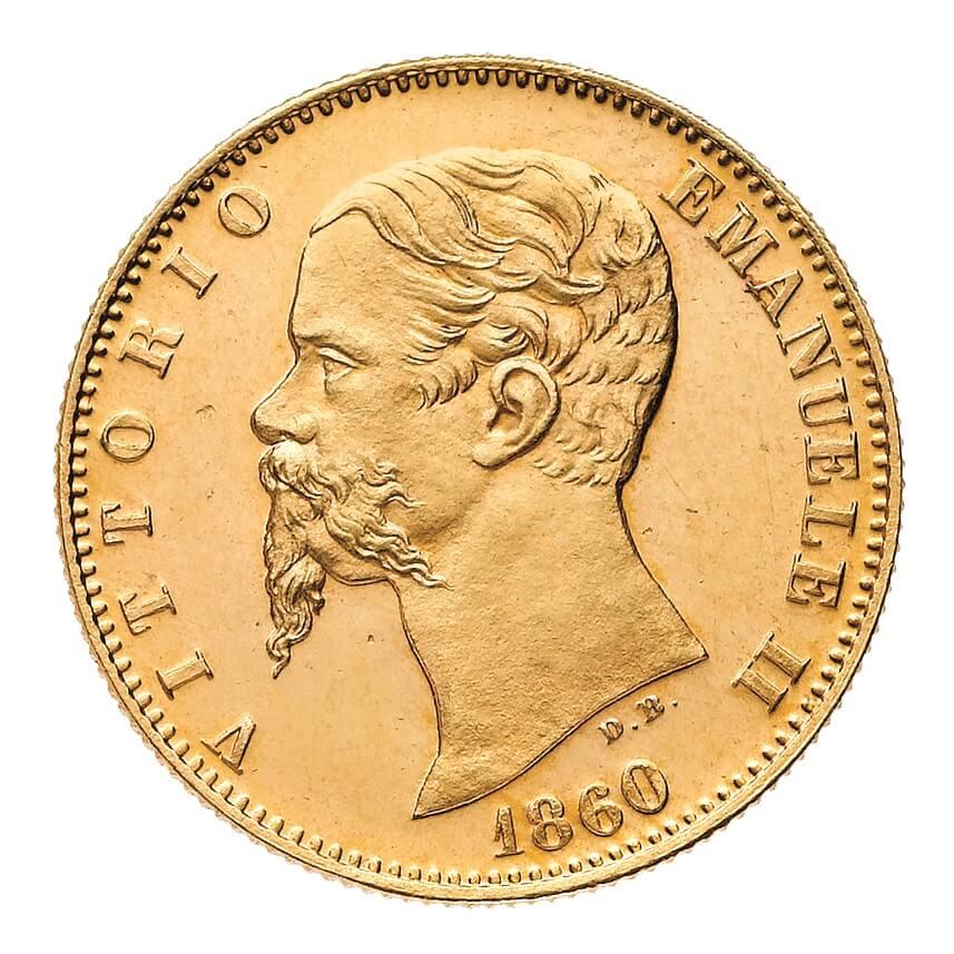 Il ritratto di Vittorio Emanuele II bulinato da Donnino Bentelli