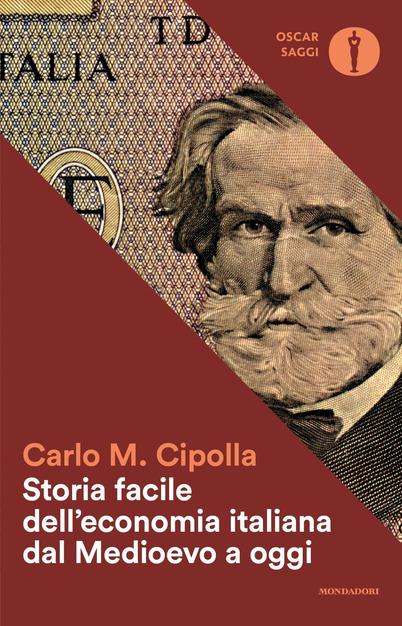 """La copertina di una delle tante, fortunate edizioni del libro di Carlo Maria Cipolla che narra, fra le altre, anche la storia del Banco, """"padrone di Genova"""""""