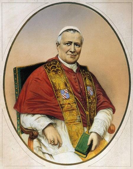 """All'arrivo dell'esercito sabaudo e delle """"torme garibaldesche"""" Pio IX concesse rifugio e protenzione a Roma all'ex delle Due Sicilie e alla sua corte"""