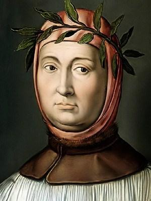 Il poeta (e numismatico) Francesco Petrarca
