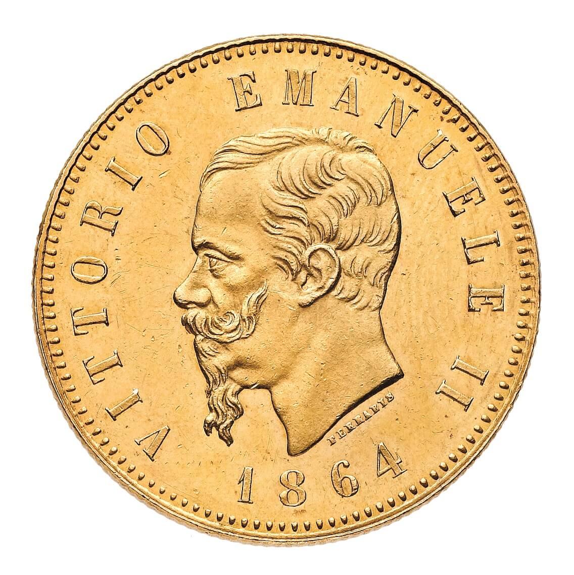 Le 50 lire oro del 1864: il sogno proibito di (quasi) ogni collezionista di monete decimali italiane