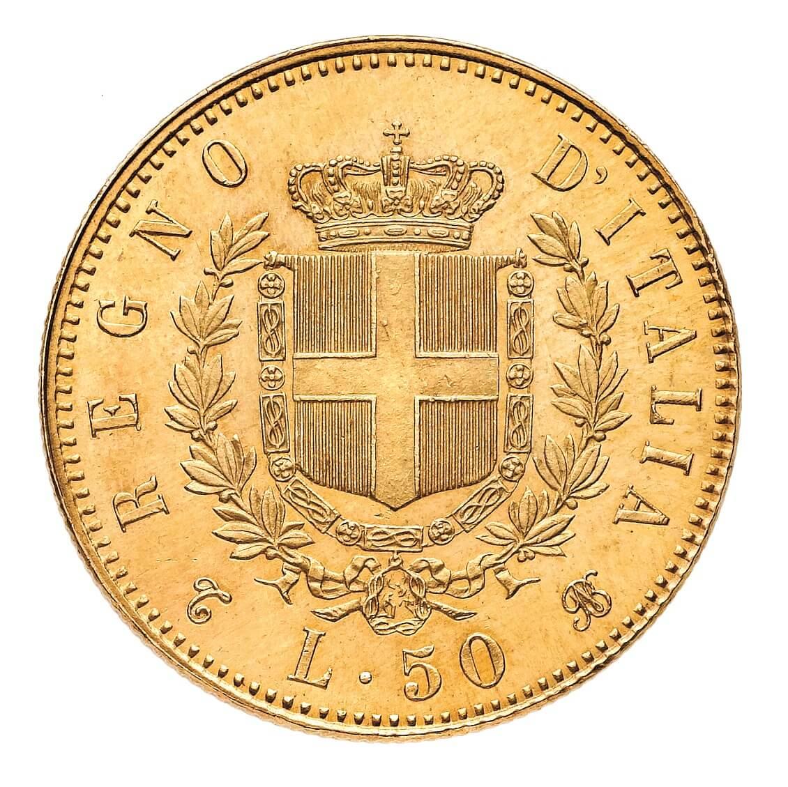 Venne coniata a Torino (sigla T BN) questa rarità di prim'ordine della serie del Regno d'Italia