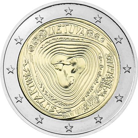 Ecco i due euro a tempo di musica che Vilnius dedica alle composizioni polifoniche tradizionali del paese