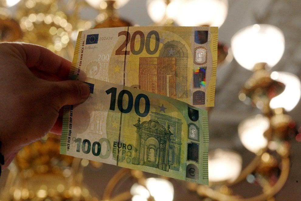 I nuovi 100 e 200 euro: a quando i primi tentativi di falsificazione?