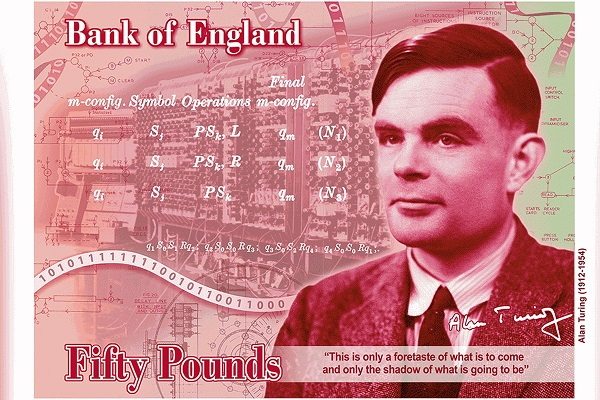 Ecco quanto finora svelato dalla BoE a proposito del retro delle 50 sterline in polimero che circoleranno dal 2021