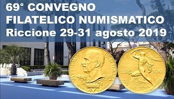 69° Convegno Filatelico Numismatico Riccione