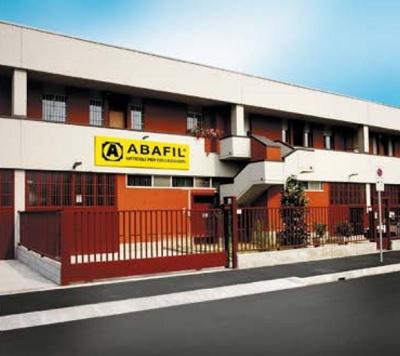 Lo stabilimento produttivo Abafil di Rozzano