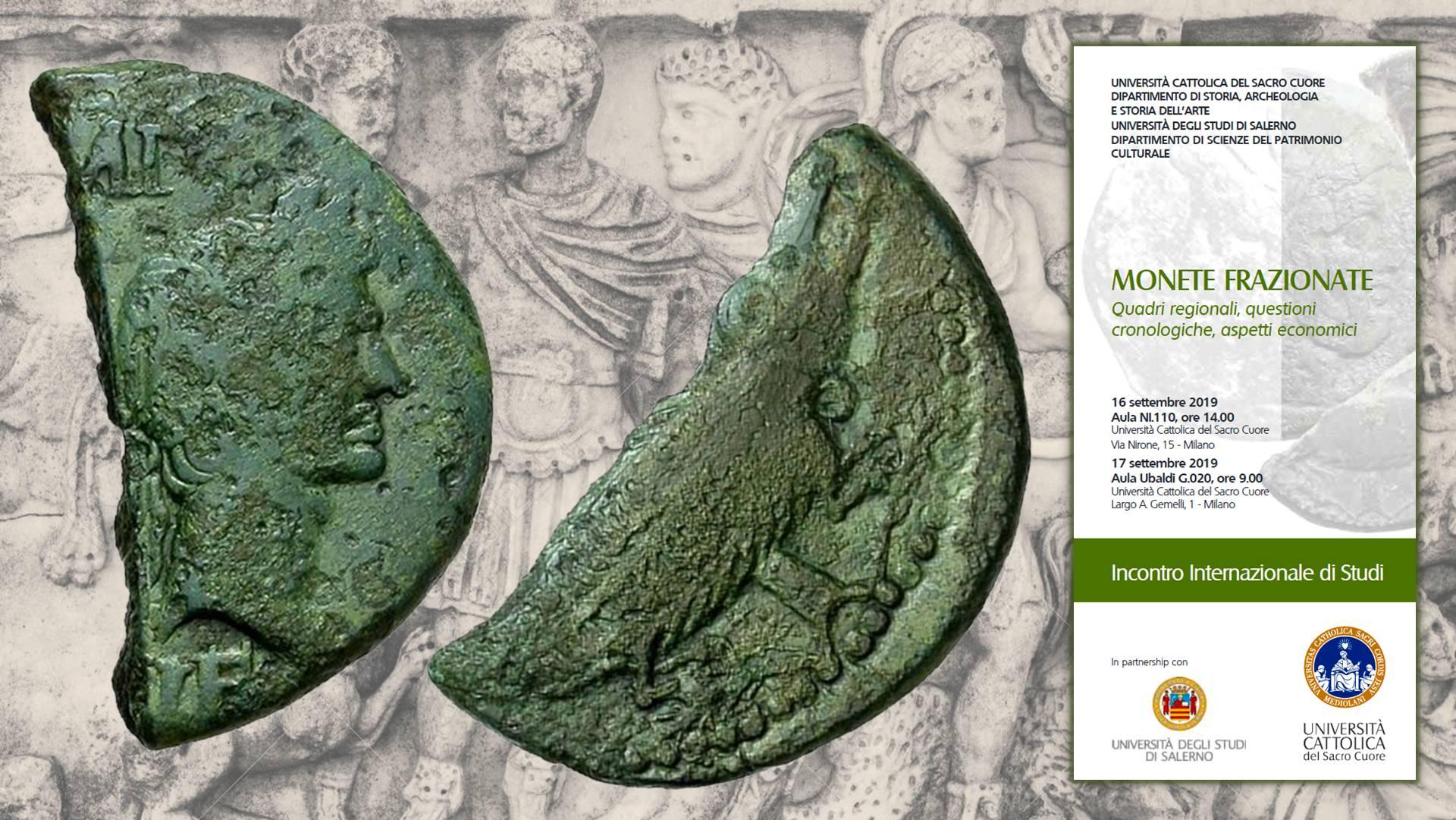Calendario Unicatt.Sulle Monete Frazionate Convegno Internazionale Alla
