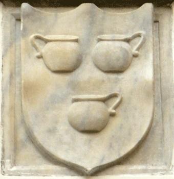 Lo stemma della famiglia Pignatelli