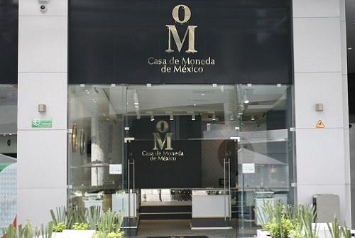 L'ingresso della sede centrale della zecca messicana