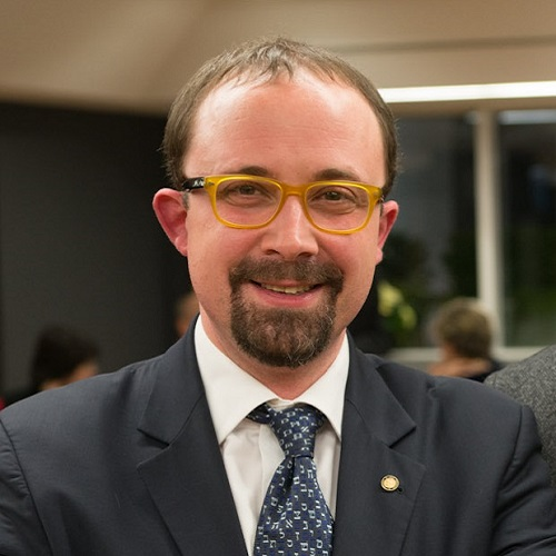 Il dottor Roberto Ganganelli, designato alla progettazione della sezione numismatica