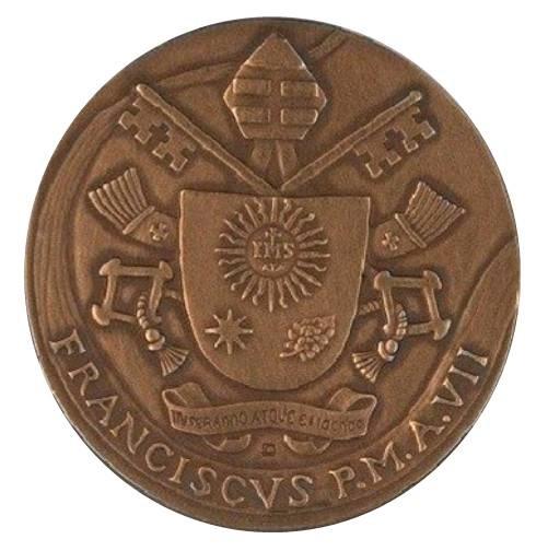 Il dritto della medaglia creata da Orietta Rossi