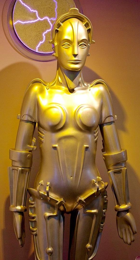 """Il robot Maria del film di Fritz Lang del 1927 """"Metropolis"""""""