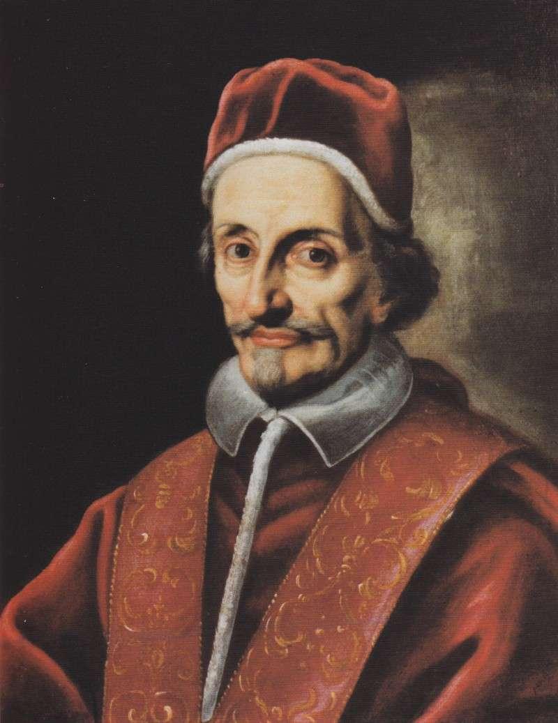 Ritratto di anonimo autore di Innocenzo XI Odescalchi (1676-1689)