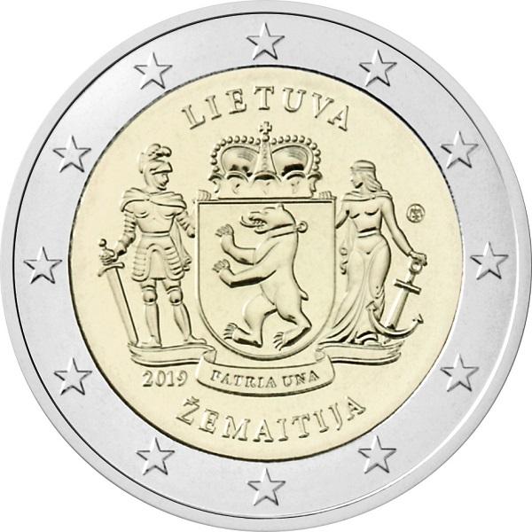 Ecco i 2 euro regionali di Lituania che debutteranno il 10 settembre