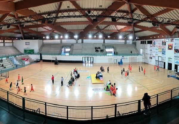 L'interno del PalaSavena di San Lazzaro durante una manifestazione sportiva