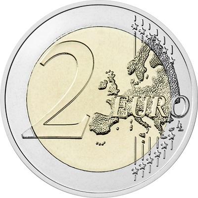La faccia comune di tutte le 2 euro