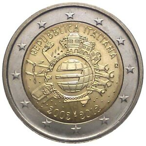 Nel 2012, l'Italia ha coniato e fatto circolare ben 15 milioni di questa 2 euro commemorativa