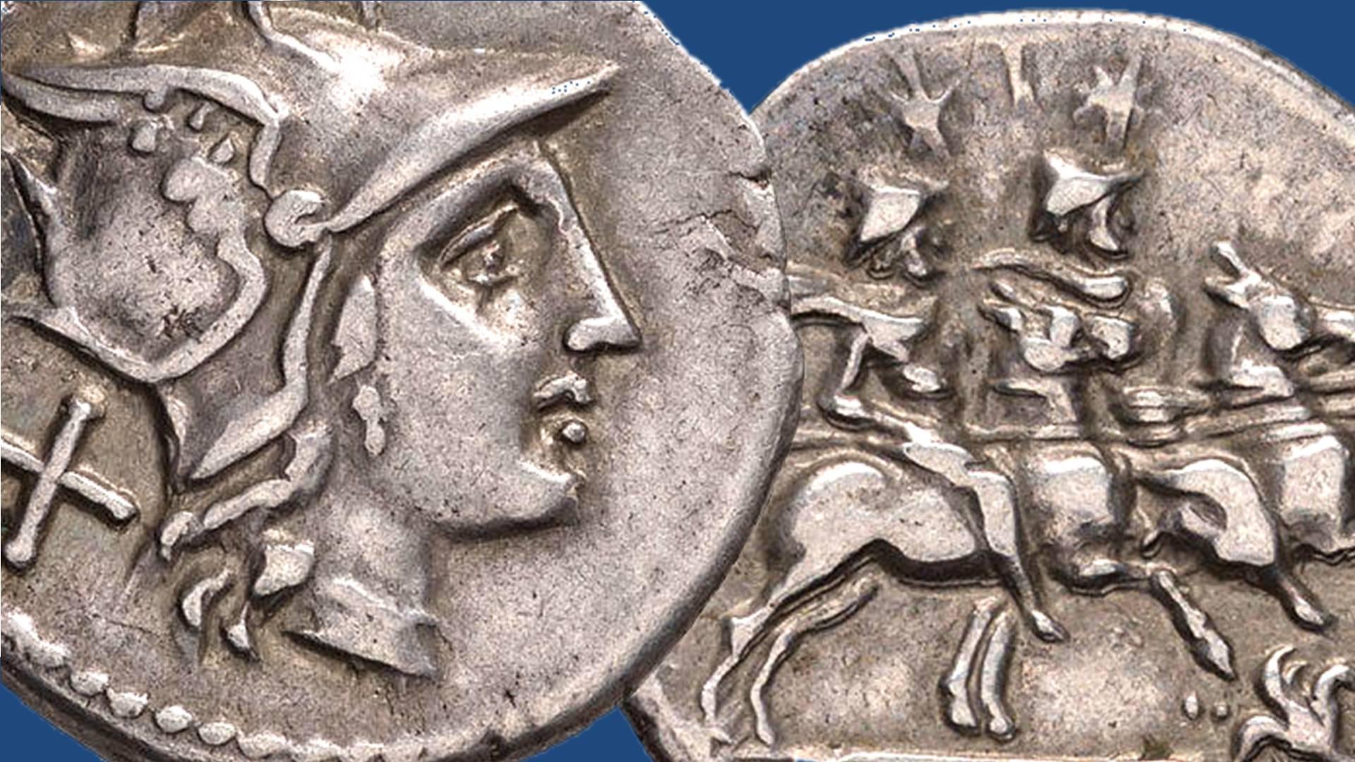 Datazione di antiche monete romane