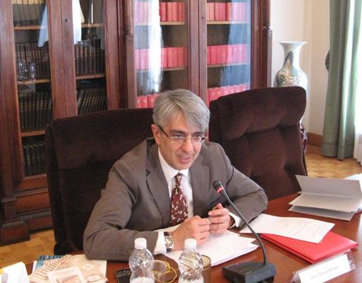 Mauro Olivieri, direttore dell'UFN vaticano