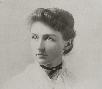 Una foto giovanile dell'astronoma Annie Jump Cannon