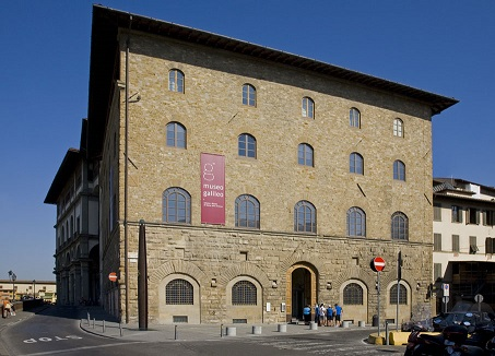 La sede del Museo Galileo nel centro storico di Firenze, a due passi dagli Uffizi e da Ponte Vecchio