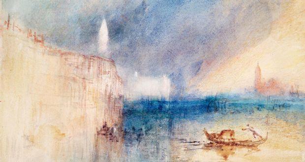 """""""Tempesta alla foce del Canal Grande a Venezia""""di William Turner (1842)"""