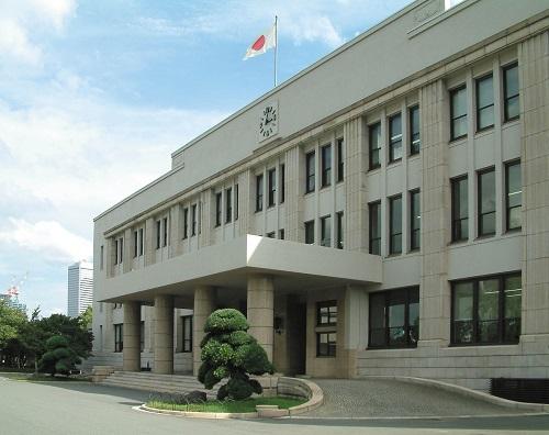 La storica sede della zecca nipponica ad Osaka: le altre officine monetarie del paese si trovano a Tokyo e Hiroshima