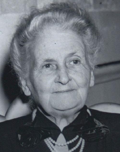 Una grande italiana, Maria Montessori