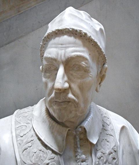 Busto di papa Innocenzo XII dal Museo di Villa Pignatelli a Napoli