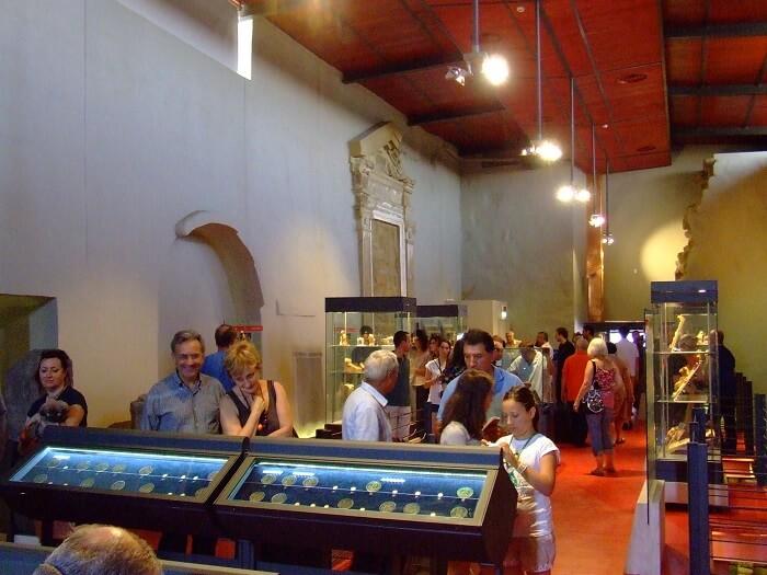 28 luglio 2012: l'inaugurazione del Museo di Sovana dedicato al tesoro di solidi rinvenuto nel 2004