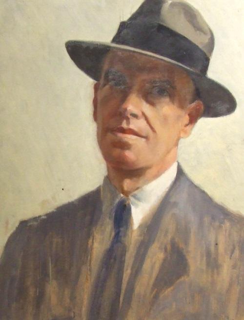 Autoritratto di Giuseppe Romagnoli, uno dei più grani medaglisti mondiali del XX secolo
