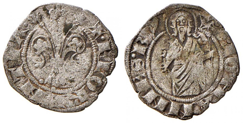Firenze. Repubblica (1189-1532). Quattrino in mistura (I semestre 1332 - I semestre 1347)