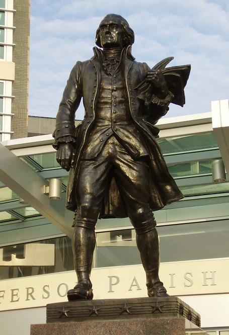 Statua di Thomas Jefferson
