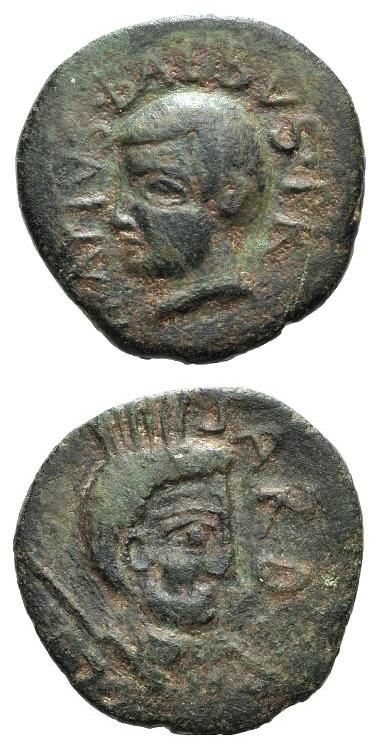 """Un esemplare di asse in bronzo detto """"Sardus Pater"""", moneta misteriosa e iconica per la numismatica sarda"""