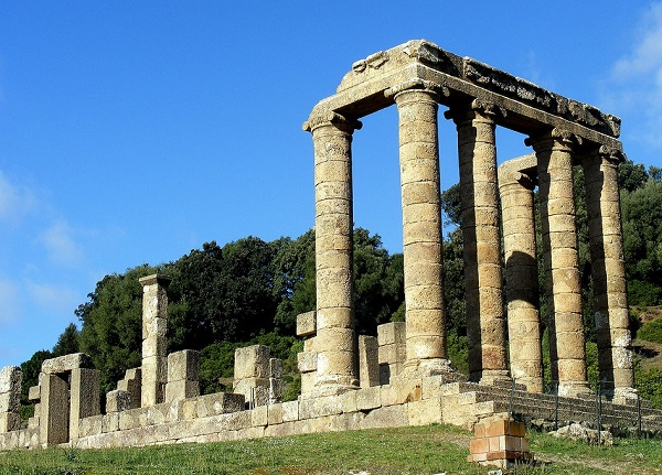 """Il Tempio di Antas, nell'Iglesiente, consacrato al """"Sardus Pater"""""""