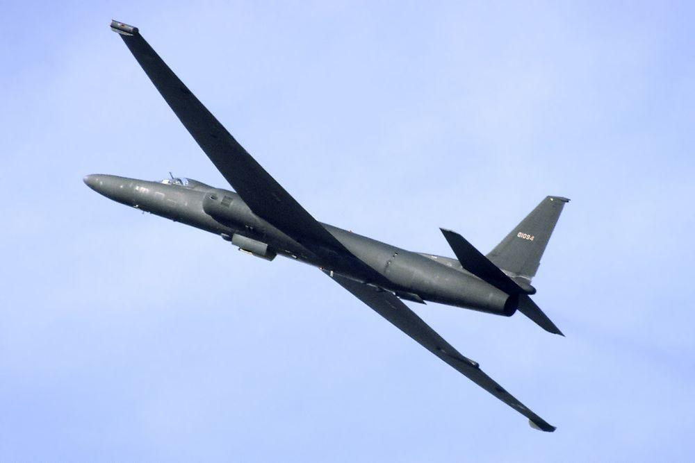 """Un velivolo spia americano """"U-2"""" dello stesso tipo di quello pilotato da Gary Powers e abbattuto su Smolensk nel 1960"""