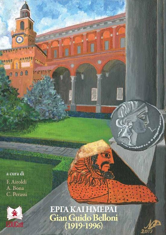 La copertina della pubblicazione in omaggio al professor Belloni nel centenario della nascita