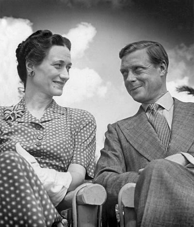 Wallis Simpson ed Edoardo di Windsor, re d'Inghilterra (senza monete...) dal 20 gennaio all'11 dicembre 1936
