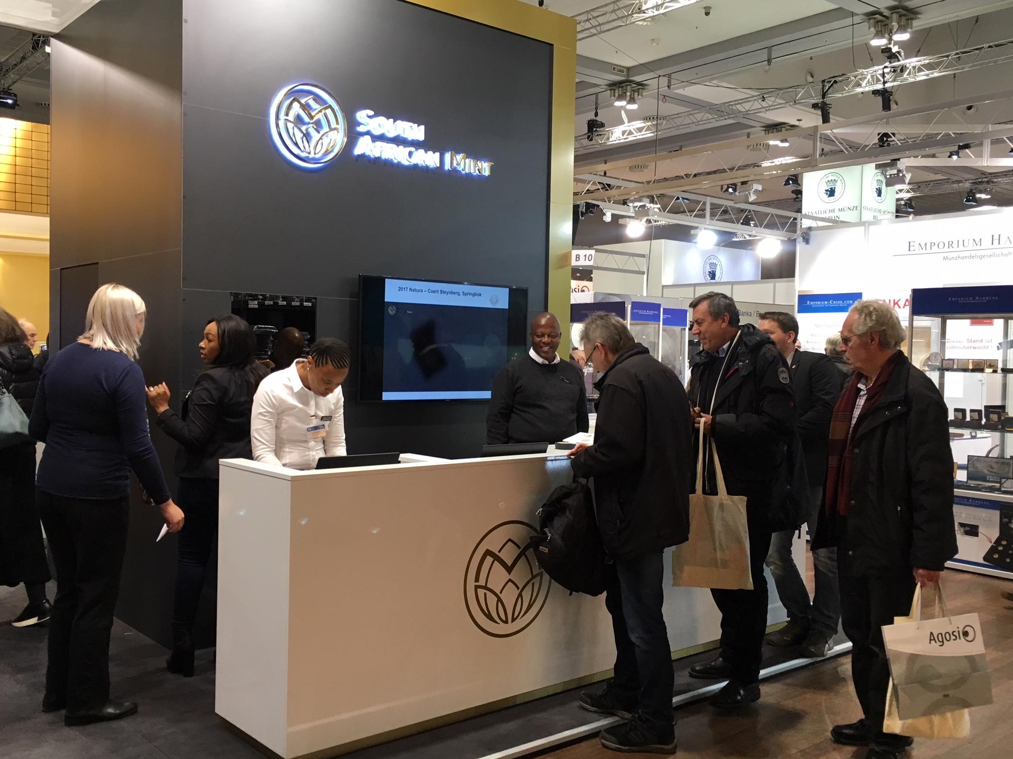 Anche alla World Money Fair di Berlino 2020 grand einteresse per le monete sudafricane, sia destinate al collezionismo che all'investimento in metalli preziosi
