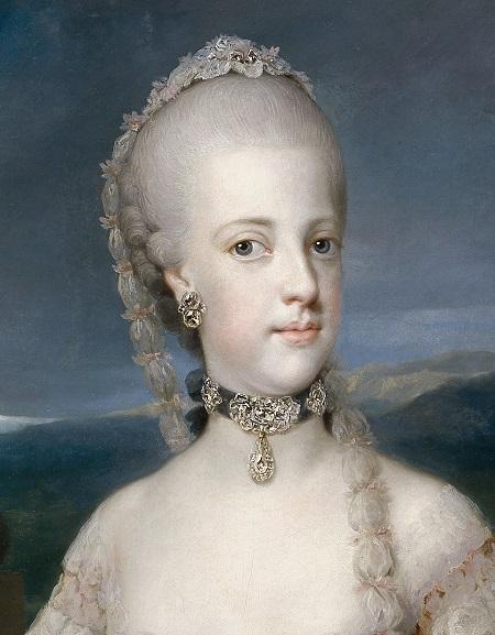 La regina Maria Carolina d'Asburgo-Lorena (1752-1814)