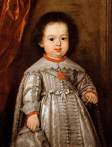 Ferdinando III de' Medici fanciullo ritratto dal pittore Justus Sustermans in un famoso quadro