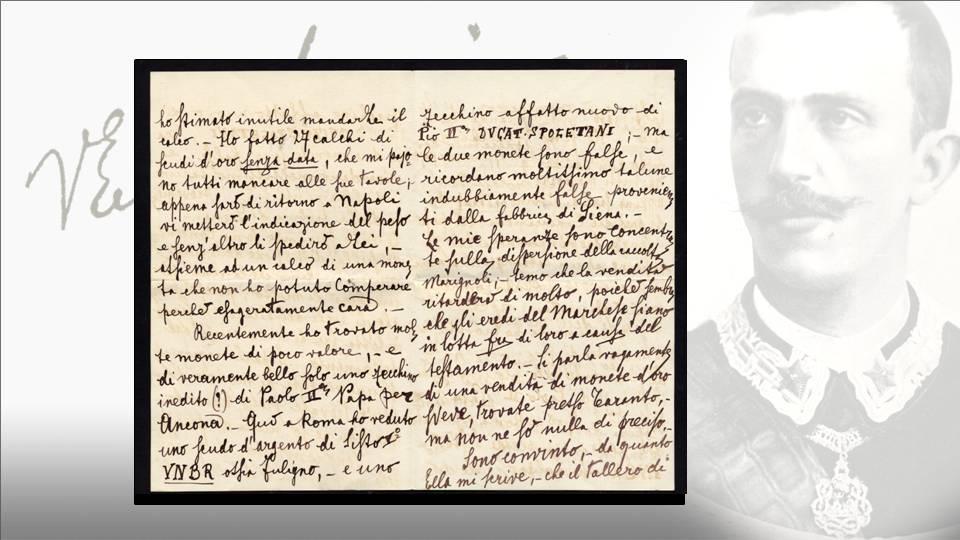 La lettera del principe Vittorio Emanuele al colonnello Ruggero: seconda e terza facciata