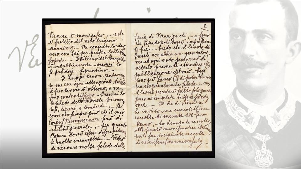 La lettera del principe Vittorio Emanuele al colonnello Ruggero: quarta e quinta facciata