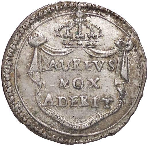 Una promessa non mantenuta, quella di nuove monete d'oro annunciata solennemente sul rovescio...