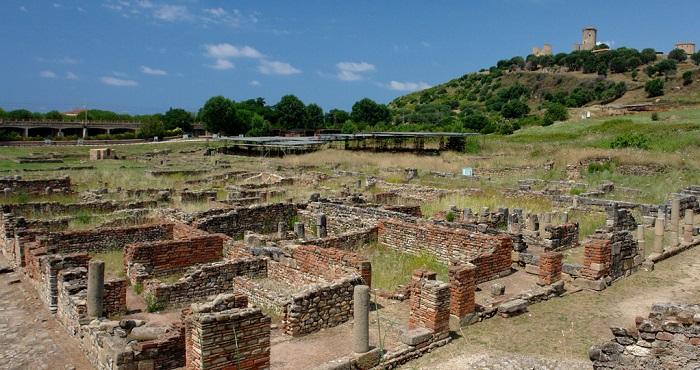 Il parco archeologico dell'antica Elea/Velia, inserito nel Parco nazionale del Cilento e Vallo di Diano e Alburni